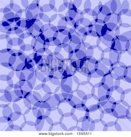 Formas de círculo azul Resumen Antecedentes