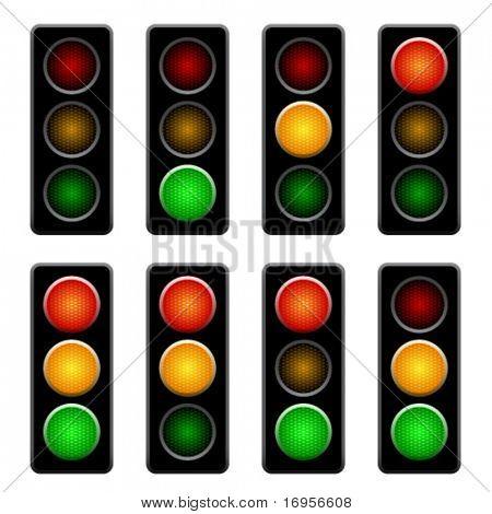 semáforos de vetor