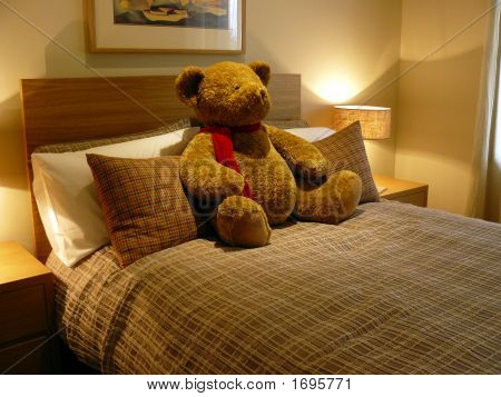 Bedroom With Bear