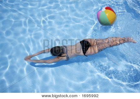 Girl Underwater