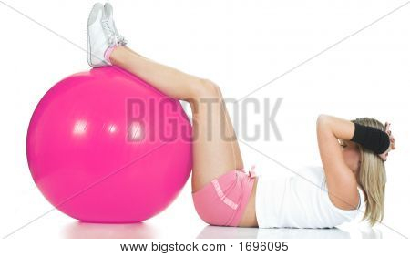 Pilates Concept - Fitness Girl