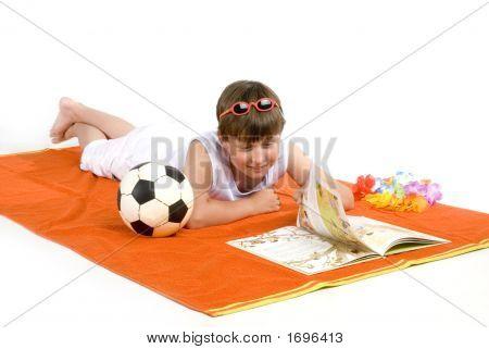 Relaxing Kid