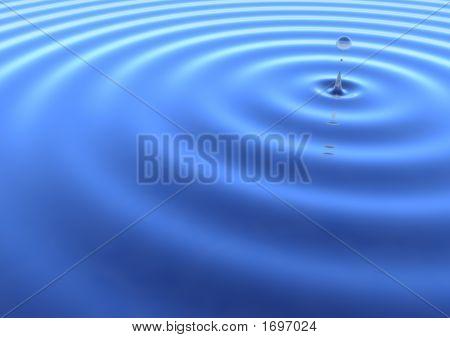 Wasser-welligkeit