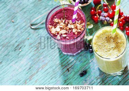 organic smoothie