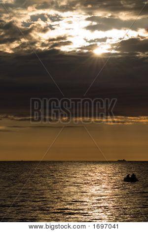 Four Layered Sunset