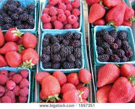 Baskets Of Berries