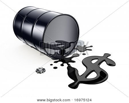 Black Gold (Oil Barrel)