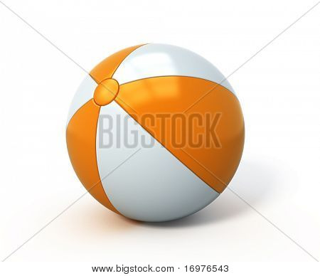Beach ball isolated