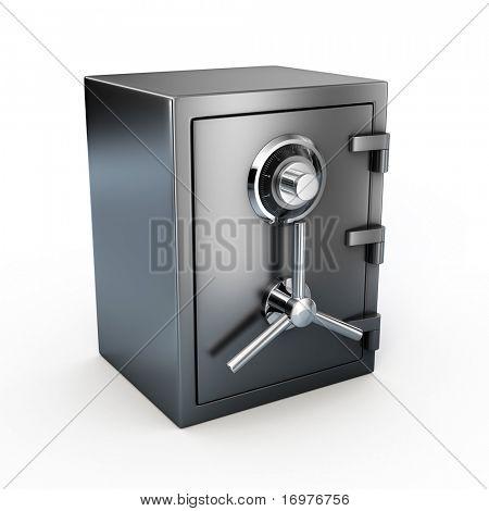Bank safe