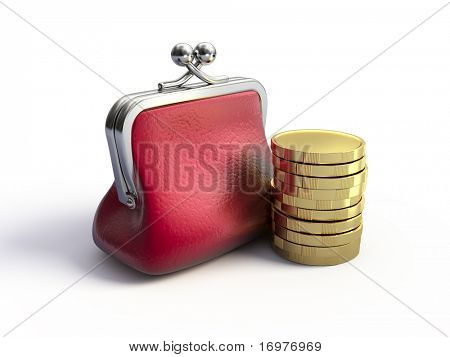 Monedero y monedas