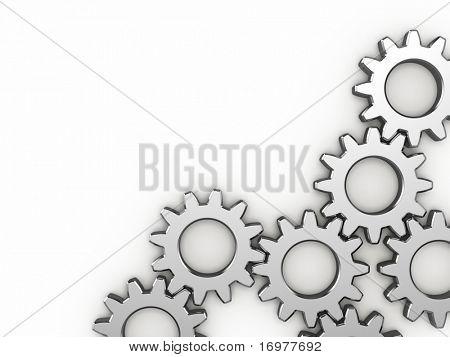 Rodas de engrenagem de aço