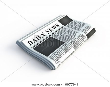 3d newspaper icon