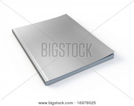 Nueva revista con plantilla en blanco de la cubierta