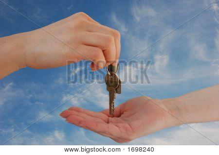 Entregar las llaves