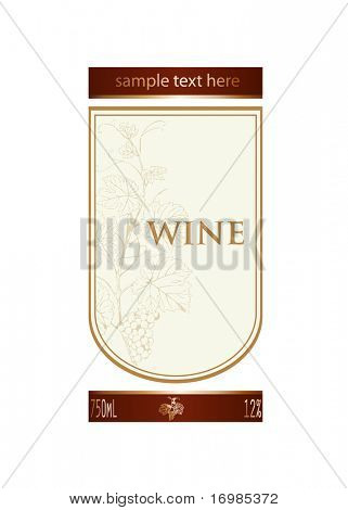 Background for wine label design