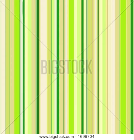 Colorful Green-And-Yellow Striped Background