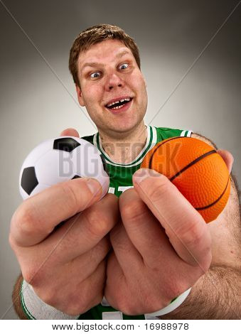 Surprised Basketball Player