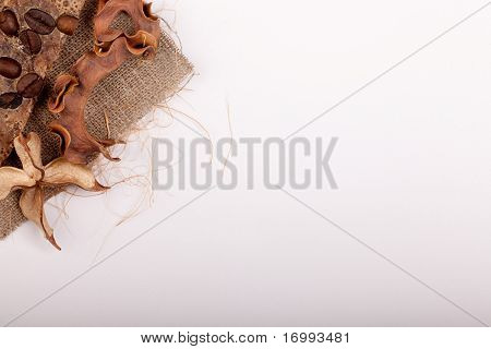 Brown Decoration Greetingcard