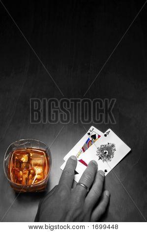 Poker Noir