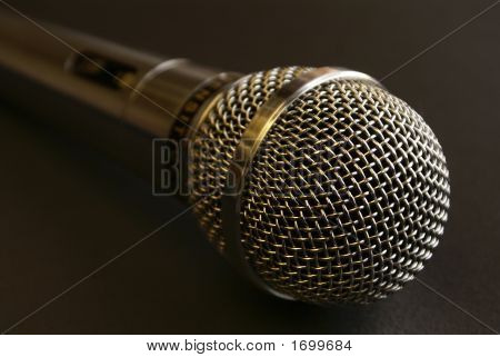 Microphone In Red