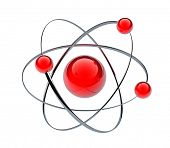pic of neutrons  - Orbital model of atom  - JPG