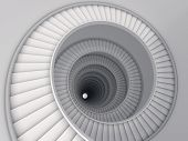 pic of spiral staircase  - Spiral stair - JPG
