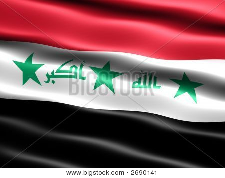 Flag Of Iraq (Before 2008)