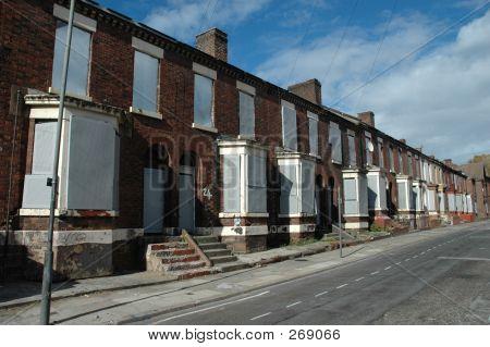 Derelict Street Anfield