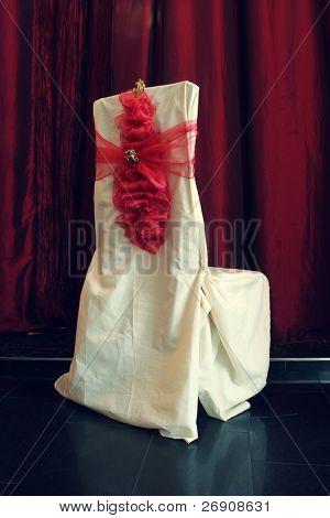 Elegant wedding chair