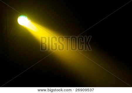 searchlight beam