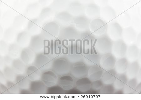 textura de bola de golfe