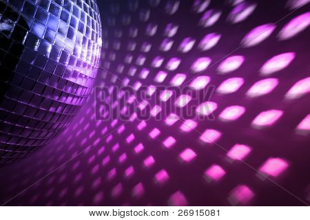 purple disco lights backdrop