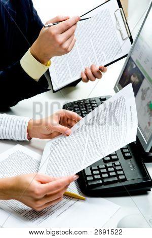 Hablar de documentos