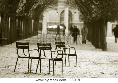 Jardín de las Tullerías. París