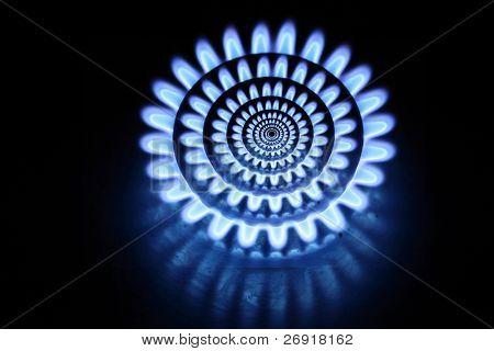 abstrakt Gasbrenner