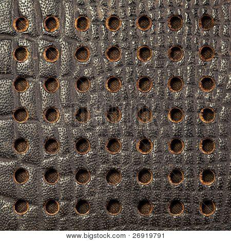 textura de malla retro altavoz parrilla