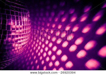 purple disco backdrop