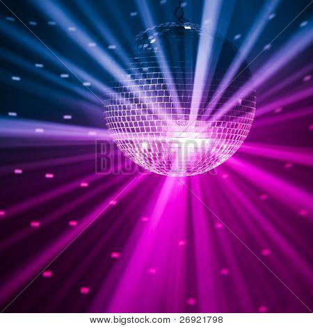 Fondo de luces de fiesta