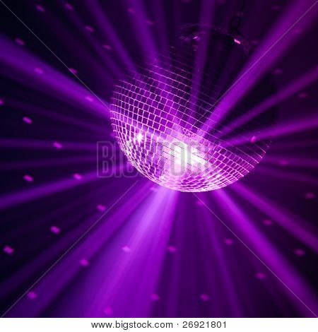violet party background