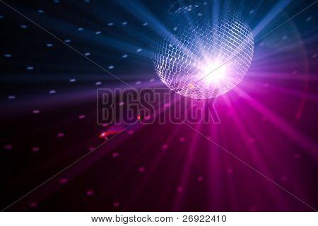 fundo de luzes de festa
