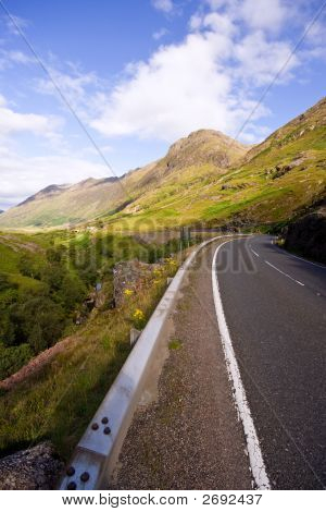 Road Down Into Glen Coe