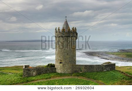 Castle in Doolin - Ireland