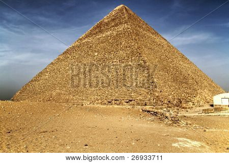 Cheops pyramid - highest pyramid of the world