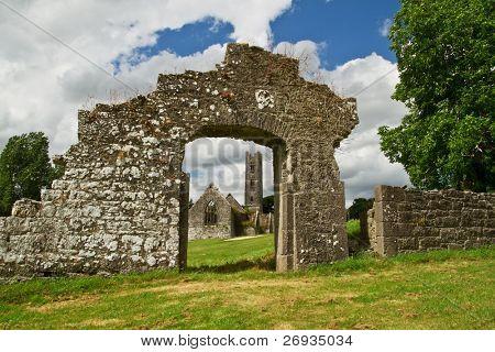 Abbey in Adare - Ireland