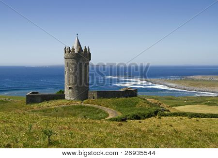 Doonagore castle in Doolin - Ireland