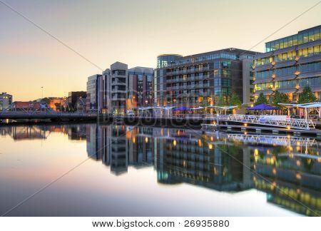 Cork city scenery - HDR - Ireland