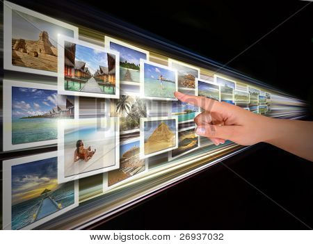 Digital display choice - all pictures are coming from my gallery