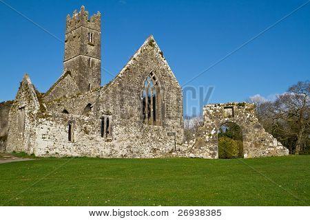 Abadia em Adare golf club - Irlanda