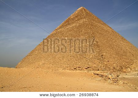 Cheops pyramid in Giza - Egypt