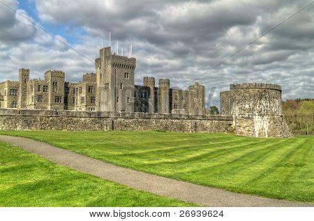 Medieval Ashford castle and gardens - Co. Mayo - Ireland